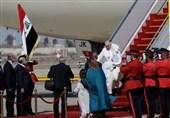 پاپ وارد بغداد شد