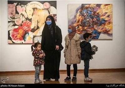 نمایشگاه آثار هنرمندان معاصر