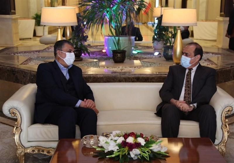 وزیر الطرق الإیرانی یلتقی وزیر النقل العراقی