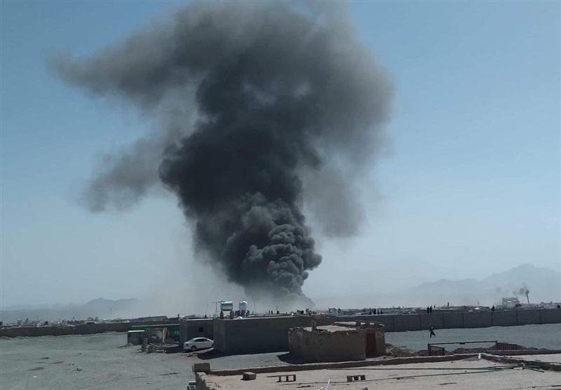 آتشسوزی گسترده در مرز افغانستان-ایران/آتشنشانان ایرانی برای مهار آتش اعزام شدند