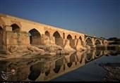 پل ساسانی در دزفول قدیمیترین پل جهان که هنوز حیات خود را حفظ کرده است+تصویر