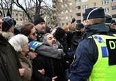 Swedish Police Break Up Coronavirus Demonstration in Stockholm
