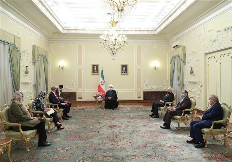 روحانی: فعال شدن برجام منوط به لغو تحریمها است/اروپا به بیعملی نسبت به برجام پایان دهد