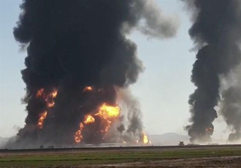 آتشسوزی تانکرها در گمرکهای مرزی؛ آیا روابط اقتصادی ایران و افغانستان را نشانه گرفتهاند؟