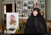همسر شهید مدافع حرم حسینعلی پورابراهیمی