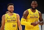 تیم لبران، برنده دیدار ستارههای NBA شد + عکس