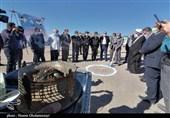 احداث ایست بازرسی شهید سلیمانی شهرستان انار آغاز شد + تصاویر