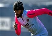 بازگشت نیمار به تمرینات PSG در آستانه تقابل با بارسلونا