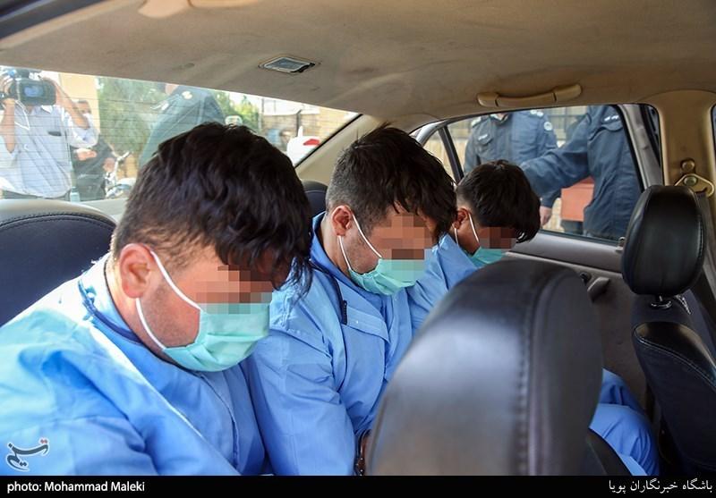 اراذل و اوباش سطح یک شمال دستگیر شدند/ بازداشت شرور سابقهدار در اتوبان تهران ـ قم 