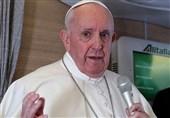 درخواست پاپ برای کاهش تنشها بین روسیه و اوکراین