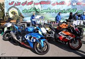 توقیف 2 دستگاه موتورسیکلت 1400CC حین تردد شبانه در غرب تهران + تصاویر