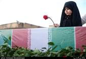 پیکر 2شهید محیطبان استان زنجان در بهشت زهرا(س) آرام گرفت