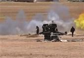 تداوم حملات هوایی و زمینی به مواضع تروریستها در سوریه