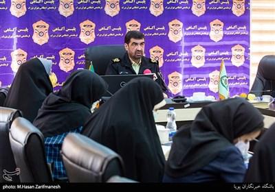 علیرضا لطفی رئیس پلیس آگاهی تهران