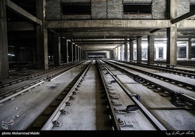 ساخت نخستین پایانه زیرزمینی قطارهای شهری