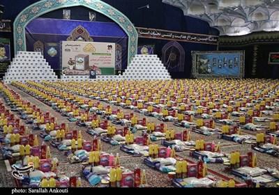رزمایش کمک مؤمنانه هیئتهای مذهبی و ستاد اجرایی فرمان امام (ره) کرمان به روایت تصویر