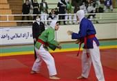 قهرمانی اصفهان در مسابقات کوراش بانوان
