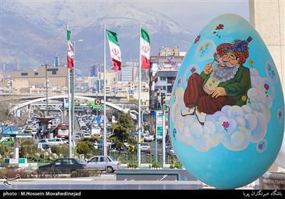 حال و هوای نوروزی تهران