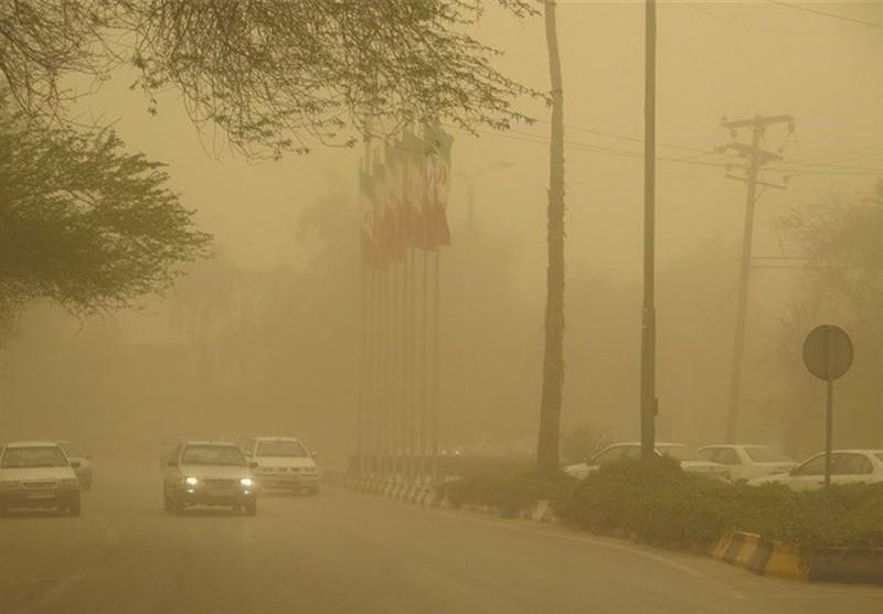 آلودگی هوا در شیراز به مرز ناسالم رسید