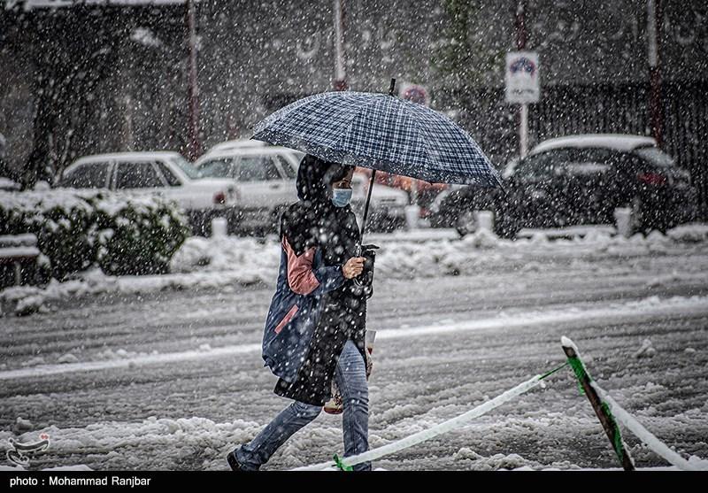 هواشناسی ایران 1400/01/2 سامانه بارشی فردا وارد کشور میشود/بارش برف و باران 5 روزه در 23 استان
