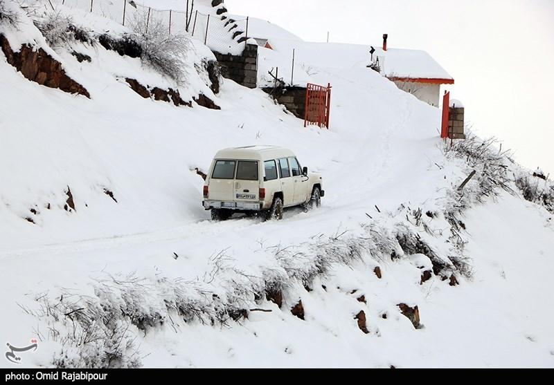 هواشناسی ایران 1400/01/08| تداوم بارش برف و باران در برخی مناطق/سامانه بارشی جدید در راه است