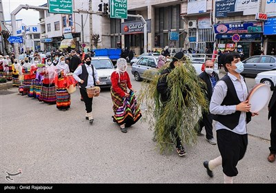 Iranian People Welcome Nowruz in Gilan