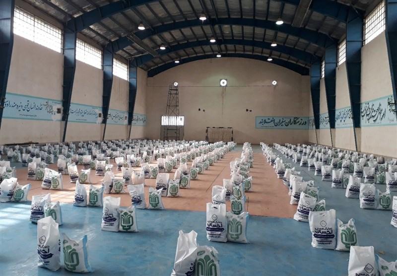 6500 بسته عیدانه نوروز 1400 در ری توزیع شد