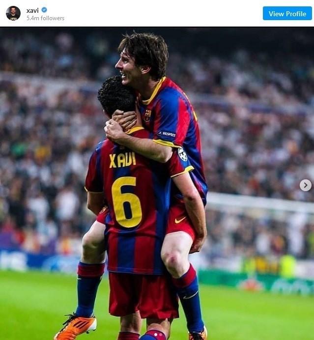 ژاویر هرناندز کروز , لیونل مسی , تیم فوتبال بارسلونا ,