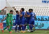 لیگ برتر فوتبال| برتری استقلال مقابل ماشینسازی در نیمه اول