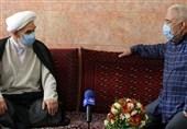 حضور نمایندگان امام خامنهای در منازل تعدادی از جانبازان