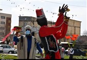 برپایی کارناوال شادی در شهرکرد به روایت تصویر