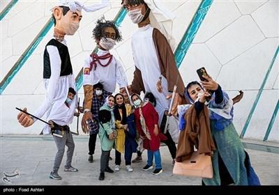 مراسم بدء العام الإیرانی الجدید فی ساحة آزادی بالعاصمة طهران