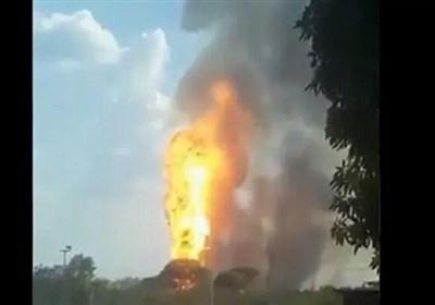 انفجار تروریستی در خط لوله انتقال گاز ونزوئلا