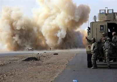 عراق  هدف قرار گرفتن خودروهای وابسته به ائتلاف آمریکایی در غرب بغداد