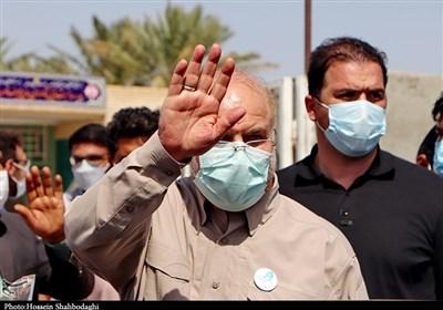 سفر رئیس مجلس شورای اسلامی به جنوب استان کرمان به روایت تصویر