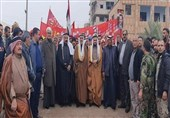 بزرگترین تجمع عشایری و مردمی در شرق سوریه در حمایت از بشار اسد و علیه اشغالگران