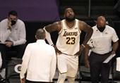 لیگ NBA| غیبت یک ماهه جیمز به دلیل مصدومیت