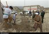 حضور نماینده ولی فقیه در خراسان شمالی در اردوی جهادی نوروز 1400+تصاویر