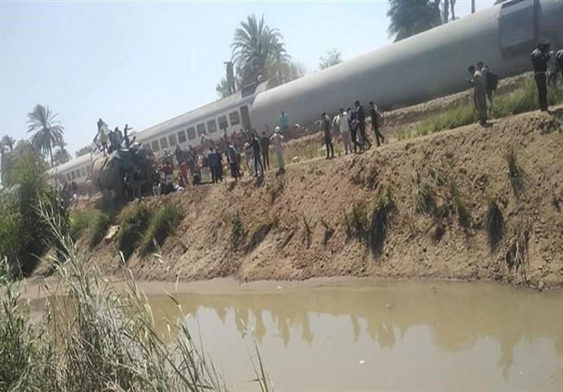 برخورد مرگبار 2 قطار در مصر