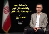 تولید دانش محور و اقتصاد دانش بنیان، راهی برای تقویت بنیههای اقتصادی ایران + فیلم