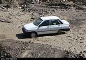 سیل در یزد/ چندین خودرو در سیل گرفتار شدند
