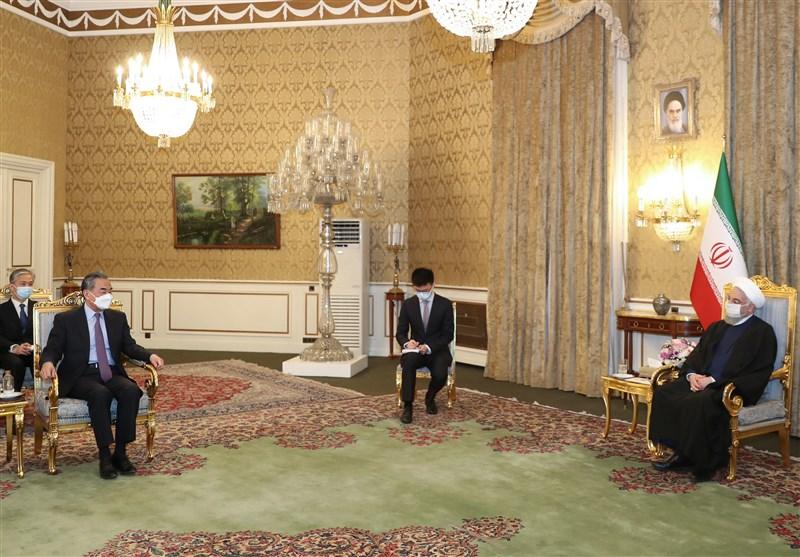 President Rouhani: Iran-China Ties Strategic