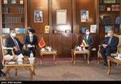 Iran's Larjinai, Chinese FM Meet in Tehran