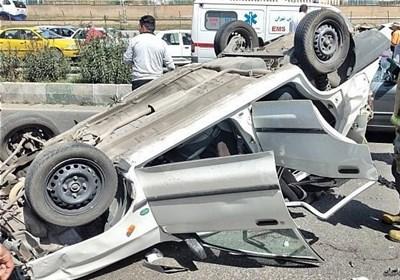 تصادف خونین در محور خاش _ زاهدان / ۲۲ مسافر مجروح و ۲ نفر کشته شدند