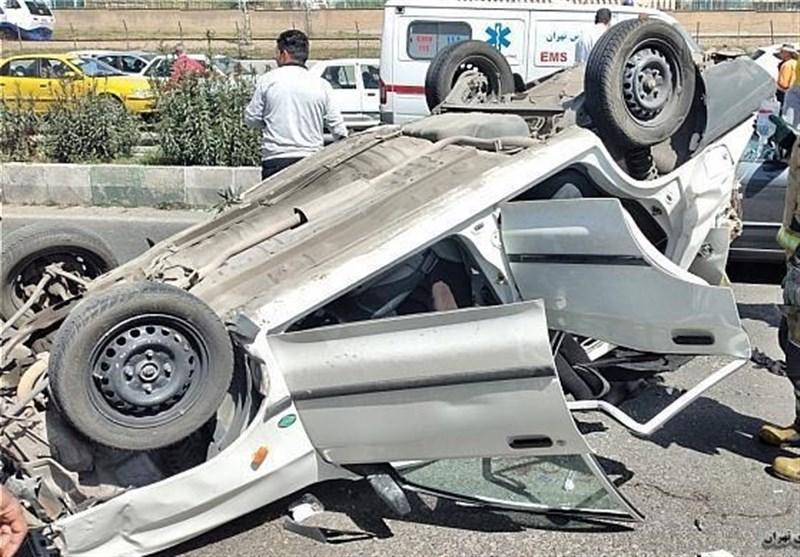 تصادف خونین در محور خاش _ زاهدان / 22 مسافر مجروح و 2 نفر کشته شدند