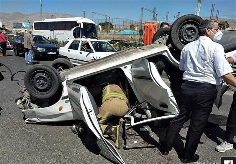واژگونی خودروی حامل اتباع بیگانه غیرمجاز در بلوچستان یک کشته و 23مجروح برجا گذاشت