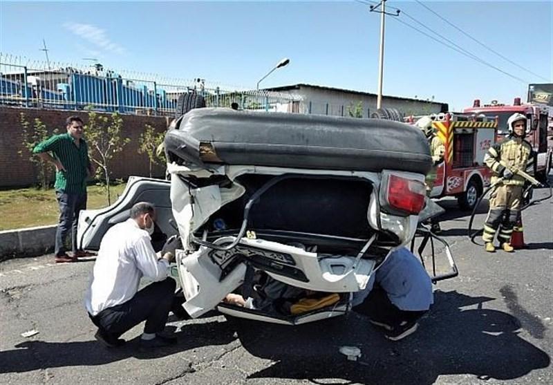 واژگونی خودرو در سیستان و بلوچستان 21 مجروح در پی داشت