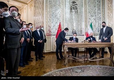 امضای سند تفاهم 25 ساله ایران و چین