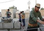 خدمت خالصانه جهادگران آران و بیدگلی در منطقه زلزلهزده سیسخت/14 جهادگر 10 روز به زلزلهزدگان خدمترسانی کردند