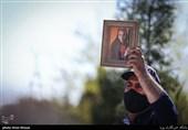 آزاده نامداری در قطعه هنرمندان آرام گرفت + عکس